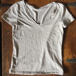 Striped V-Neck H&M T-Shirt!